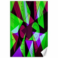 Modern Art Canvas 24  X 36  (unframed)