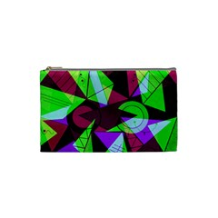 Modern Art Cosmetic Bag (Small)