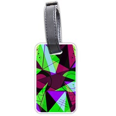 Modern Art Luggage Tag (Two Sides)