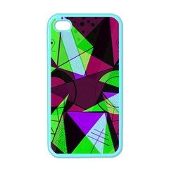 Modern Art Apple Iphone 4 Case (color)