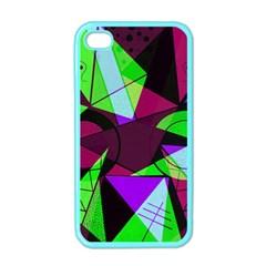 Modern Art Apple iPhone 4 Case (Color)