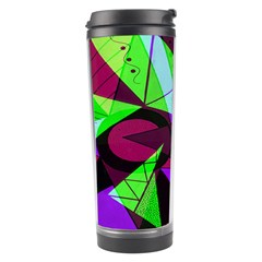Modern Art Travel Tumbler