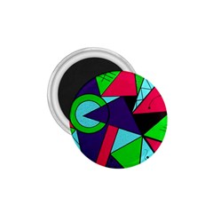 Modern Art 1.75  Button Magnet