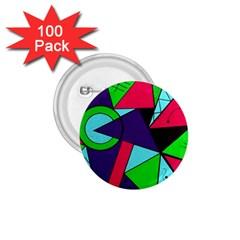 Modern Art 1 75  Button (100 Pack)