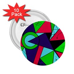Modern Art 2.25  Button (10 pack)