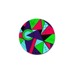 Modern Art Golf Ball Marker