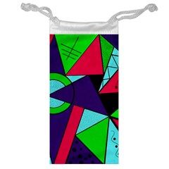 Modern Art Jewelry Bag
