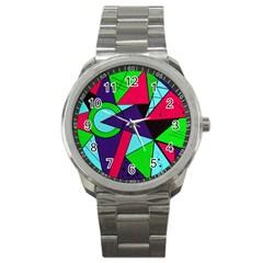 Modern Art Sport Metal Watch