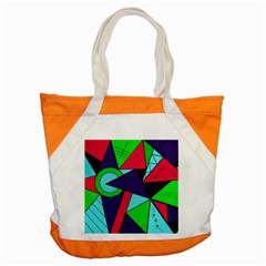 Modern Art Accent Tote Bag