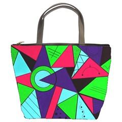Modern Art Bucket Bag