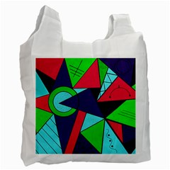 Modern Art Recycle Bag (One Side)