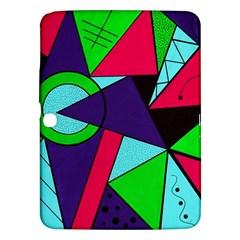 Modern Art Samsung Galaxy Tab 3 (10 1 ) P5200 Hardshell Case