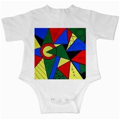 Modern Art Infant Creeper