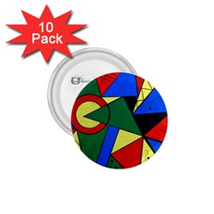 Modern Art 1 75  Button (10 Pack)