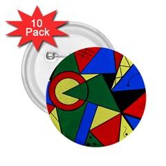 Modern Art 2 25  Button (10 Pack)