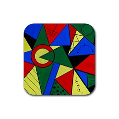 Modern Art Drink Coaster (square)