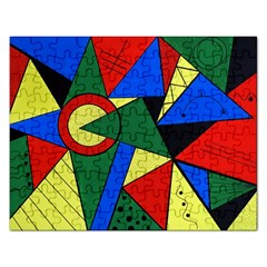 Modern Art Jigsaw Puzzle (Rectangle)