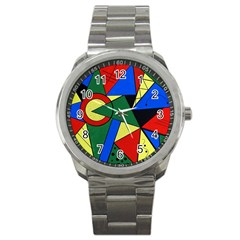 Modern Art Sport Metal Watch