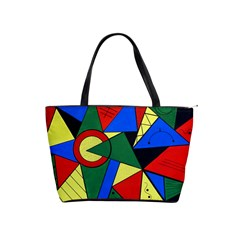 Modern Art Large Shoulder Bag