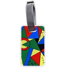 Modern Art Luggage Tag (One Side)