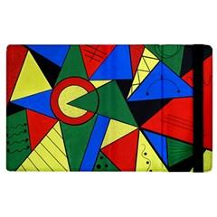 Modern Art Apple iPad 2 Flip Case