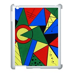 Modern Art Apple Ipad 3/4 Case (white)