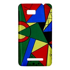 Modern Art HTC One SU T528W Hardshell Case