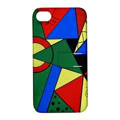 Modern Art Apple iPhone 4/4S Hardshell Case with Stand