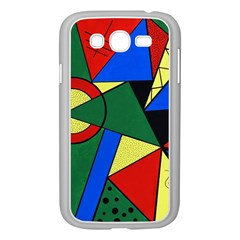 Modern Art Samsung Galaxy Grand DUOS I9082 Case (White)