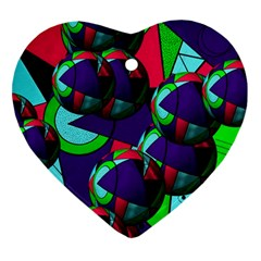 Balls Heart Ornament