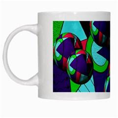 Balls White Coffee Mug