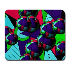 Balls Large Mouse Pad (rectangle)