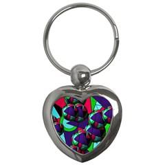 Balls Key Chain (heart)