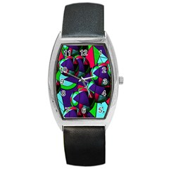 Balls Tonneau Leather Watch
