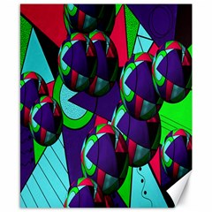 Balls Canvas 8  x 10  (Unframed)