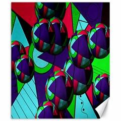 Balls Canvas 20  x 24  (Unframed)