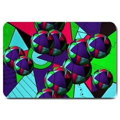 Balls Large Door Mat