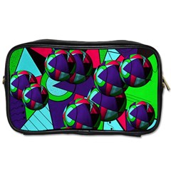 Balls Travel Toiletry Bag (Two Sides)