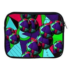 Balls Apple Ipad 2/3/4 Zipper Case
