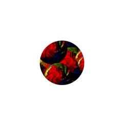Balls 1  Mini Button Magnet