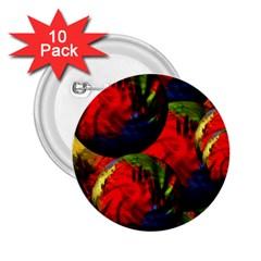 Balls 2 25  Button (10 Pack)