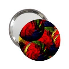 Balls Handbag Mirror (2 25 )