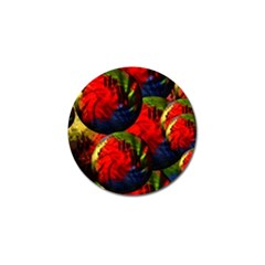 Balls Golf Ball Marker 4 Pack