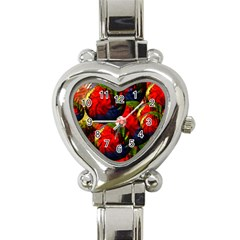 Balls Heart Italian Charm Watch