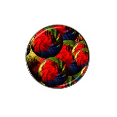 Balls Golf Ball Marker 4 Pack (for Hat Clip)