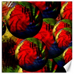 Balls Canvas 12  x 12  (Unframed)