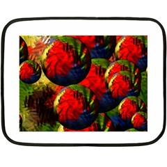 Balls Mini Fleece Blanket (two Sided)