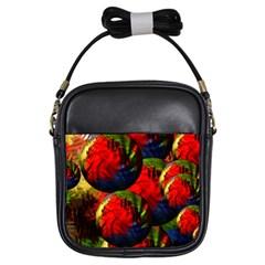 Balls Girl s Sling Bag