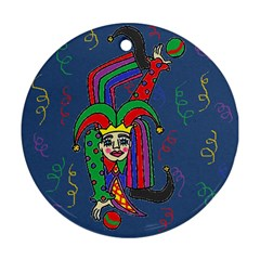 Buffoon Round Ornament (Two Sides)