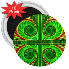 Design 3  Button Magnet (10 pack)